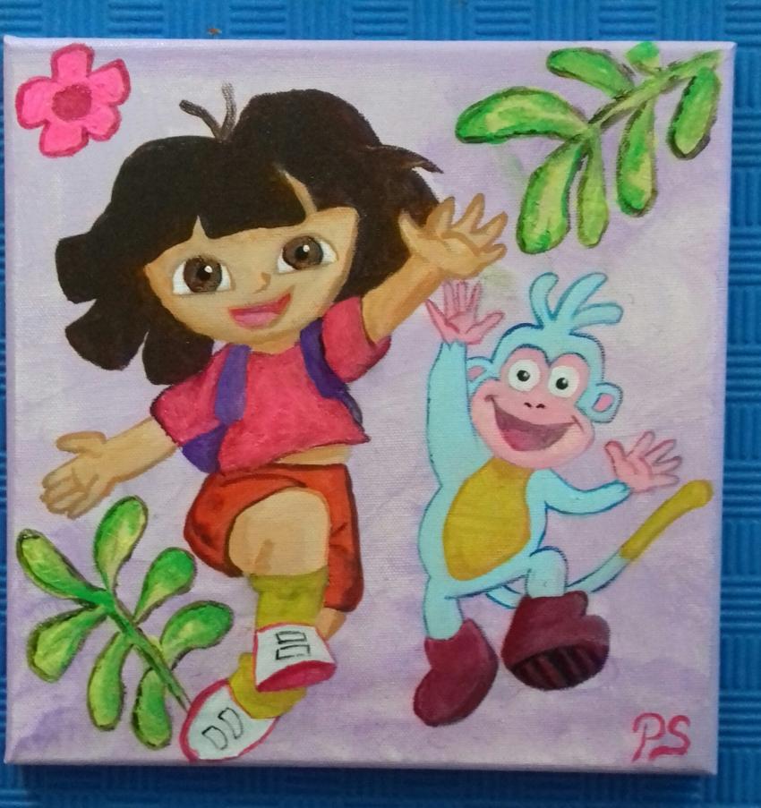 Dora the Explorer by PenStilos